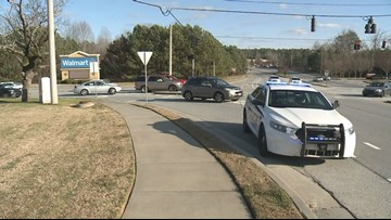 Driver followed, shot leaving gas station near Snellville-area Walmart