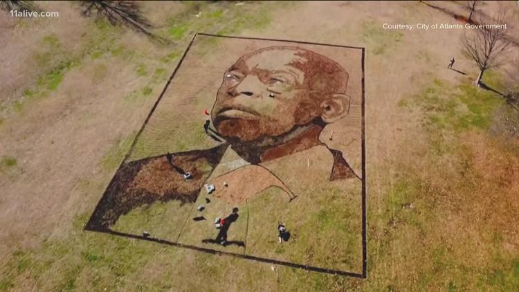 New art installation honors John Lewis