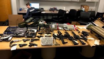 16 arrested for drug trafficking organization hidden in