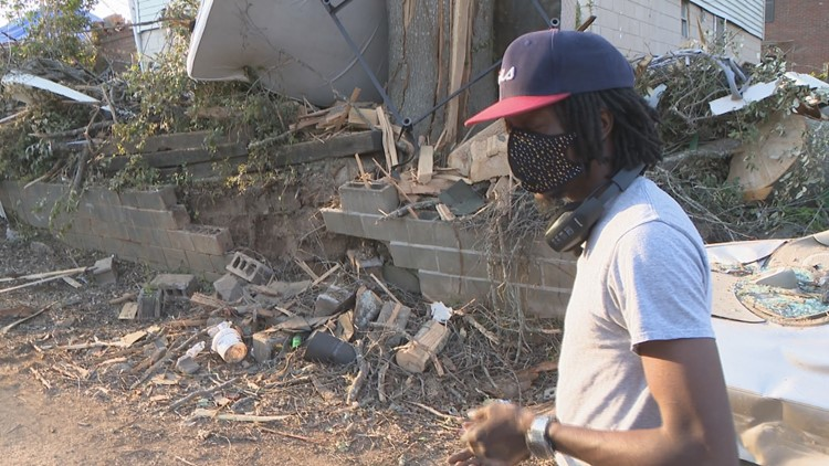 He hid with his two kids and pregnant fiancée under a mattress. Now, they're wondering what's next after Newnan tornado