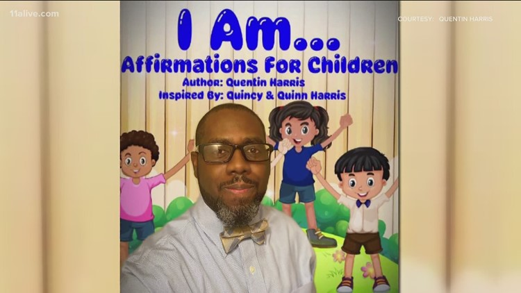 Father pens book of affirmations for children