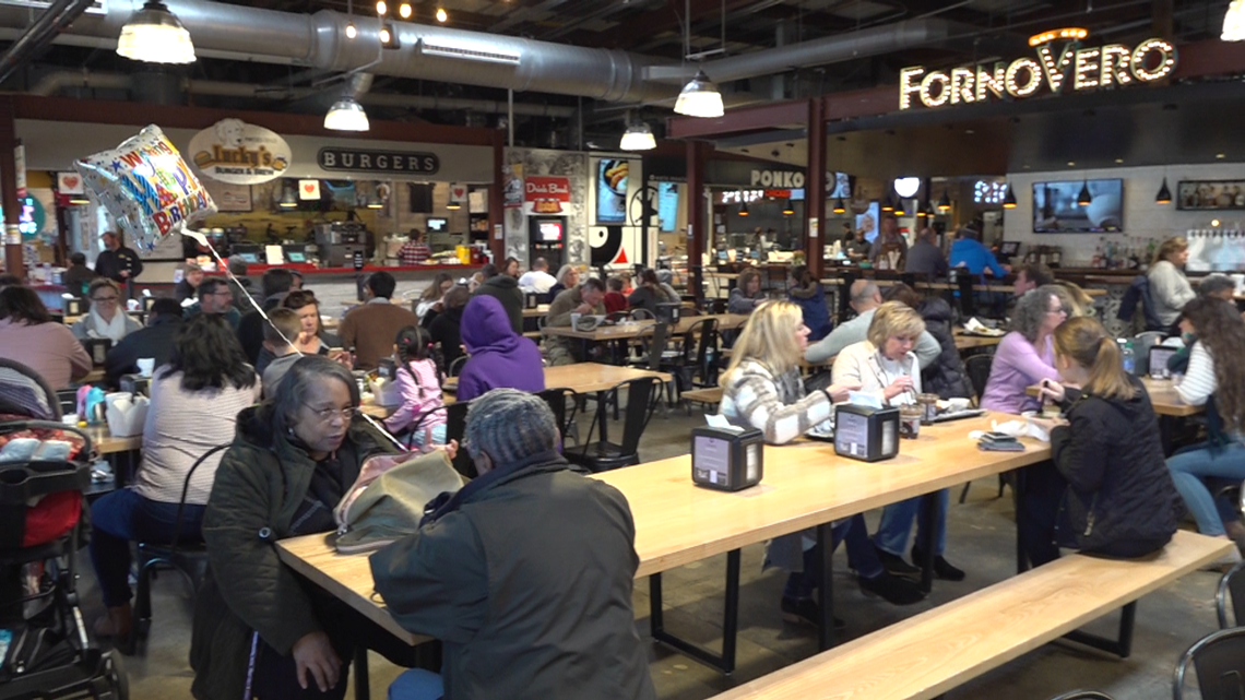 Developers of Marietta Square Market say the new food hall is a huge success