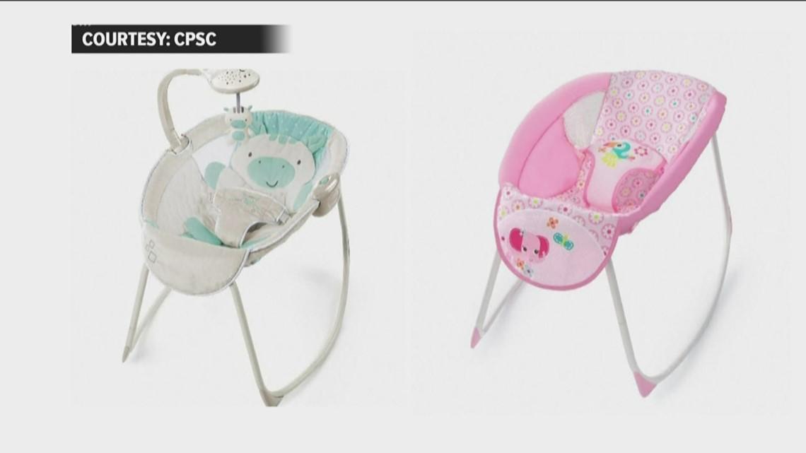 Atlanta company recalls nearly 700,000 baby rockers