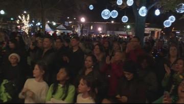 Marietta welcomes Santa, lights tree in Square
