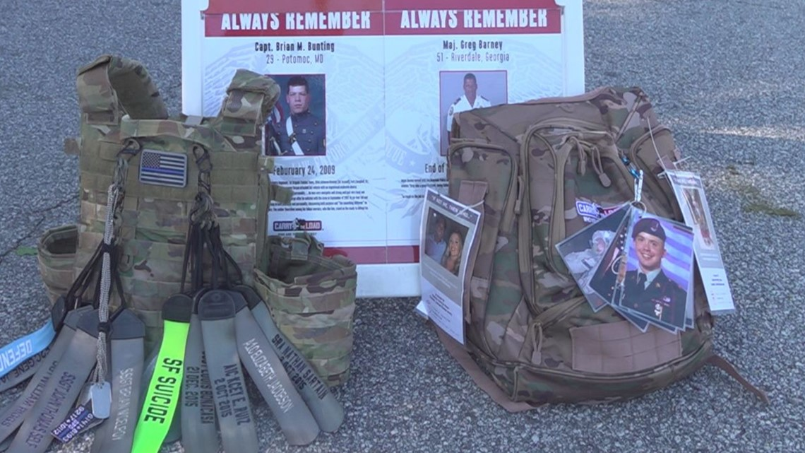 National relay honors lives of fallen soldiers in Gwinnett County