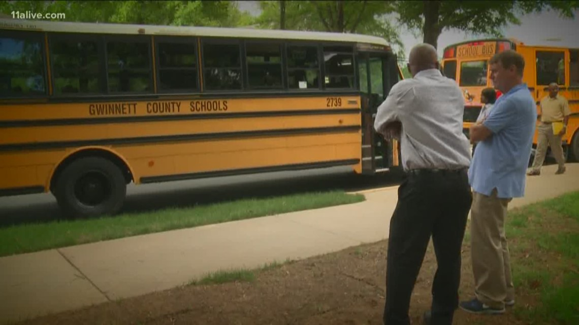 Gwinnett County Facing Shortage Of Bus Drivers 11alivecom