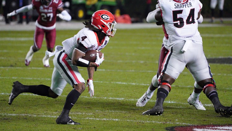 Role of UGA's James Cook in the offense this season
