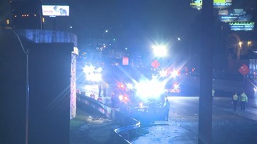 One dead on I-75 in Cobb County after crash involving SUV, car and boat