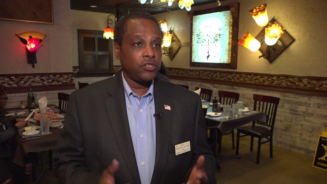 Gilstrap campaigns for Cobb Co. Sheriff for 5th time