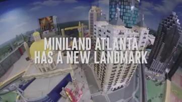 Legoland creates Mercedes-Benz Stadium out of Legos