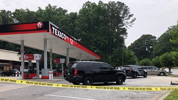 Broad daylight shooting near Atlanta area gas station leaves one dead, another injured