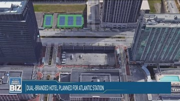 Dual-branded hotel planned for Atlantic Station