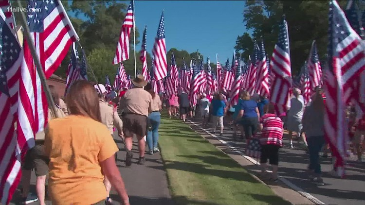 Field of Flags tribute to be held next Saturday