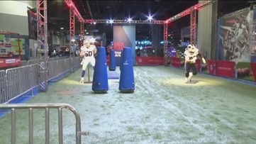 Inside of the Super Bowl Experience