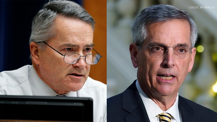 Secretary of State Brad Raffensperger faces at least two Republican challengers if he seeks re-election