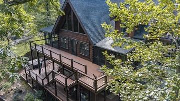 Chipper Jones' Blue Ridge mountain hideaway is on the market for $1.575 million