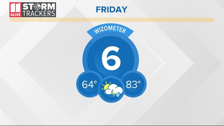 Wet pattern continues through the weekend