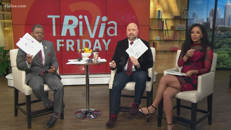 Valentine's Day trivia on Wake Up with Chesley