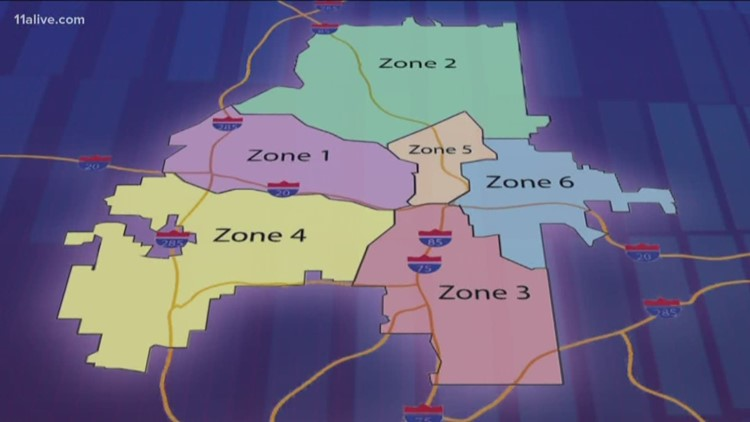 Here Are The Changes To Atlanta S Six Zones 11alive Com