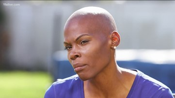 Chaunté Lowe is training for the Olympics while battling breast cancer