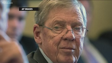 Johnny Isakson hospitalized after fracturing 4 ribs