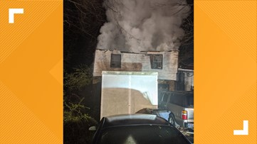 Family's home destroyed by fire in northwest Lawrenceville