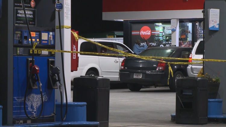 Man shot in hand after he hit a woman with a gun during a fight