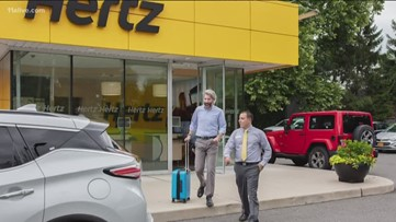 Hertz testing new model where you can swap out cars