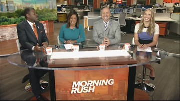 The Morning Rush team reacts to Oprah donating $13 million dollars to Morehouse