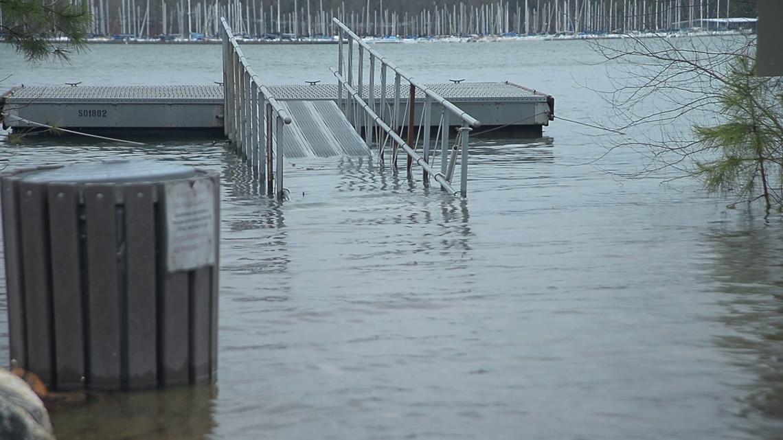 Lake Lanier Christmas 2020 Lake Lanier water levels dramatically rise in just a week