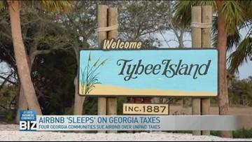 Georgia communities sue Airbnb over unpaid taxes