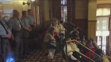Georgia Senate passes 'heartbeat' abortion bill