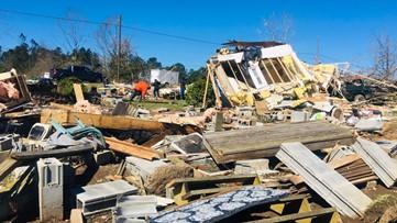 18 tornadoes tore across Georgia Sunday