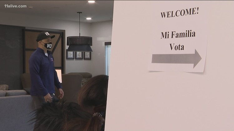 Group pushing to get more minority voters to Georgia polls