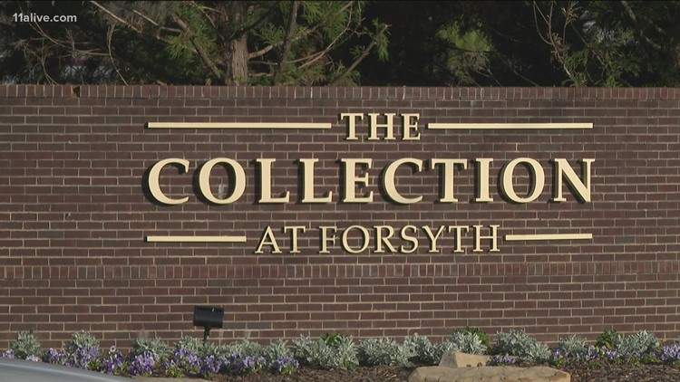 Forsyth County stabbing at popular mall sends one to hospital