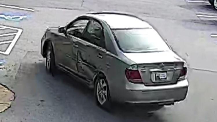 Car Used in Elderly Robbery