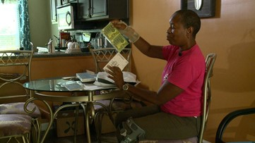 Boxes of lottery tickets kept showing at Marietta woman's home