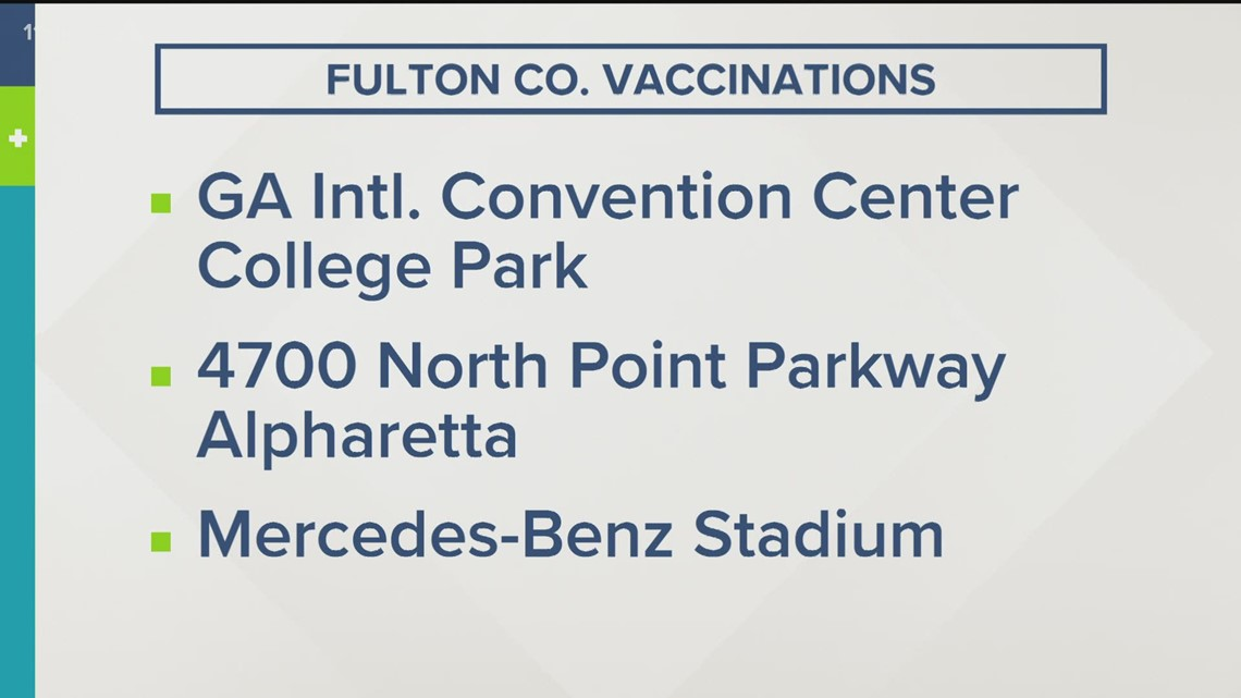 Fulton County still offering walkup vaccine days
