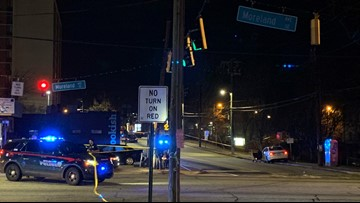 Driver wrecks after being shot in face in East Atlanta Village