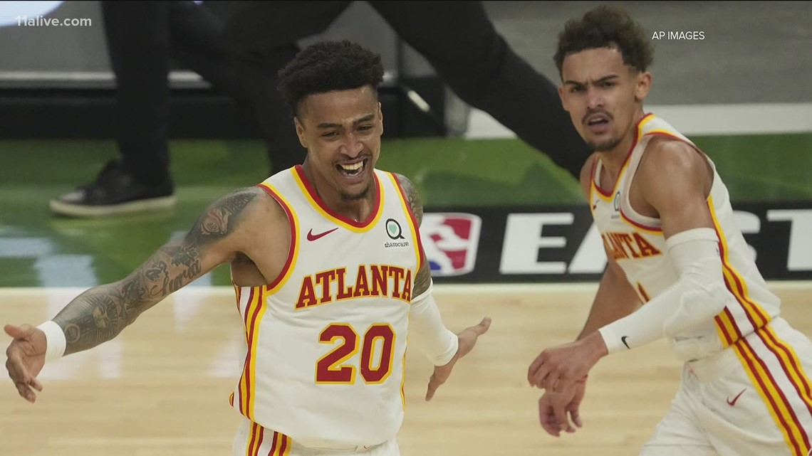 Hawks win Game 1 of Eastern Conference Finals 116-113