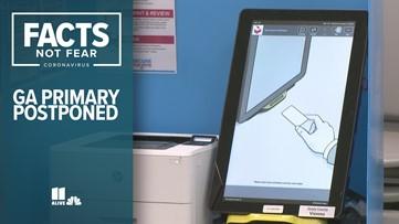 Georgia primary election postponed, again