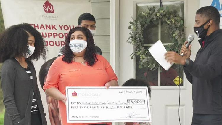 Mother of 3 becomes first-time homeowner thanks to Warrick Dunn