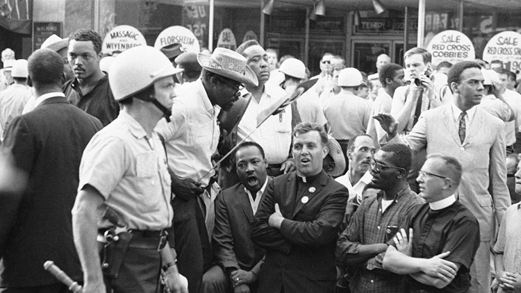 Why is Atlanta considered the mecca of the civil rights movement?