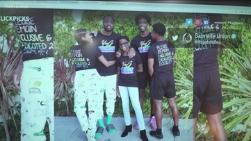 Gabrielle Union and Dwayne Wade creates t-shirt to raise money for LGBTQIA organizations, Royals celebrate birthday