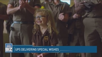 UPS Delivering Special Wishes