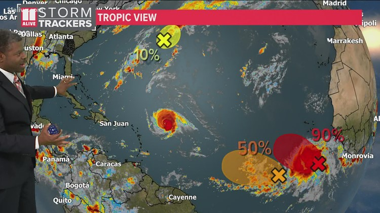 Tracking the Tropics   Sam a Category 4 hurricane. Here is what else is brewing