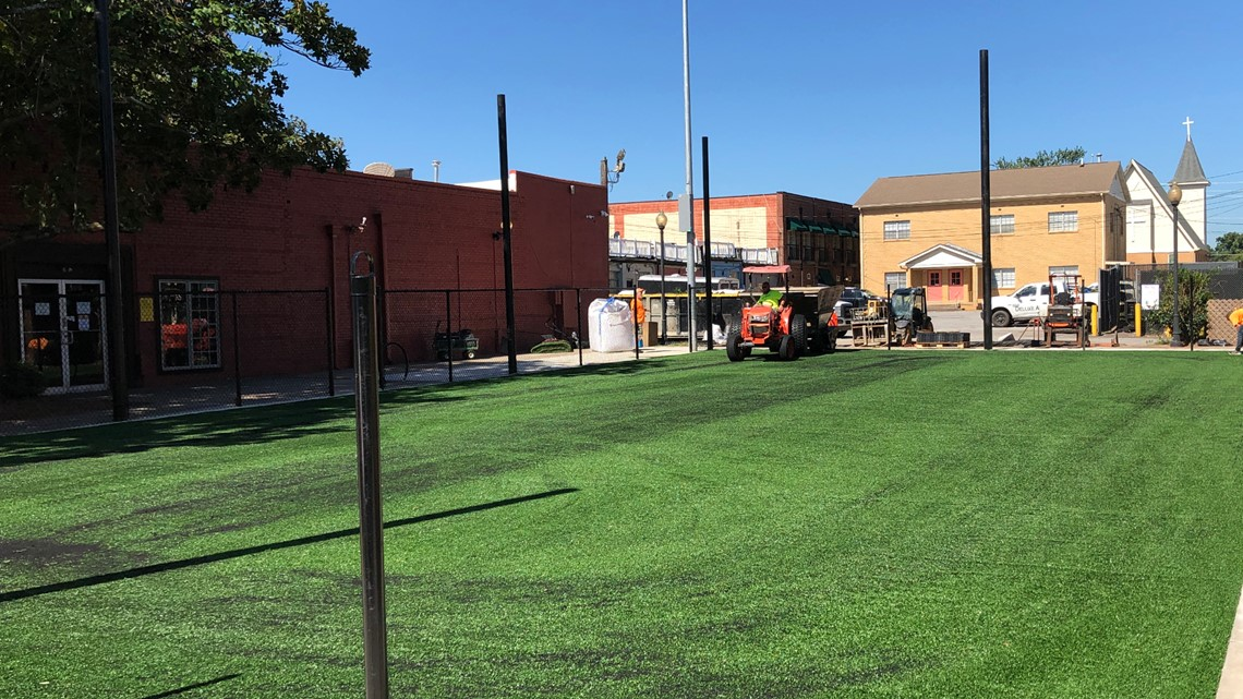 East Point is (almost) ready to get a kick out of new soccer field