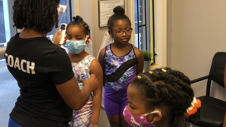 College Park gymnastics studio implements new rules during pandemic