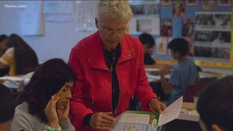Cobb County teacher celebrates 50 years in the classroom