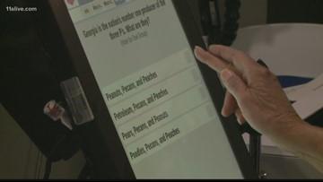 Atlanta unveils new voting machines